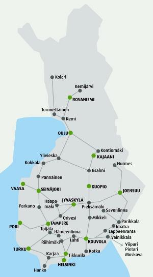 Vr Kuopio Helsinki